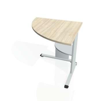 Přídavný stůl Hobis PROXY PP 902 levý, akát/šedá
