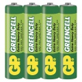 Baterie GP GREENCELL R03, typ AAA, 1,5 V,  4 ks