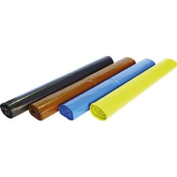 Barevné pytle na třídění odpadu - 120 l, 4 x 5 ks, 40 mic