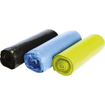 Barevné pytle na třídění odpadu - 120 l, 3 x 5 ks, 40 mic