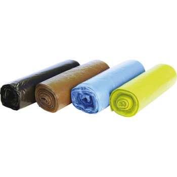 Barevné pytle na třídění odpadu - 60 l, 4 x 10 ks, 20 mic