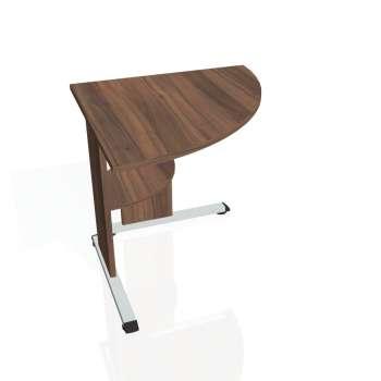 Přídavný stůl Hobis PROXY PP 902 pravý, ořech/ořech