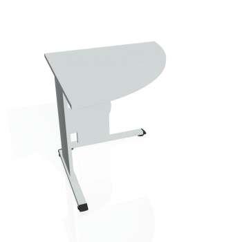 Přídavný stůl Hobis PROXY PP 902 pravý, šedá/šedá