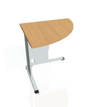 Přídavný stůl Hobis PROXY PP 902 pravý, buk/šedá