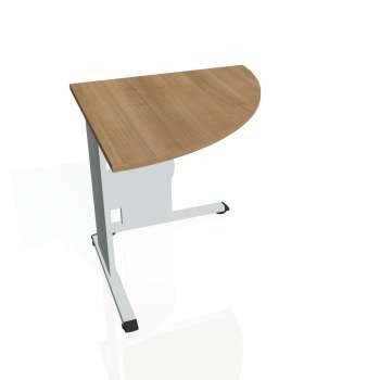 Přídavný stůl Hobis PROXY PP 902 pravý, višeň/šedá