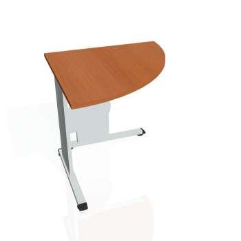 Přídavný stůl Hobis PROXY PP 902 pravý, třešeň/šedá