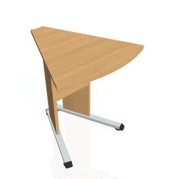 Přídavný stůl Hobis PROXY PP 452, buk/buk