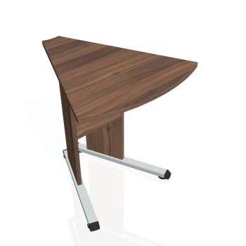 Přídavný stůl Hobis PROXY PP 452, ořech/ořech