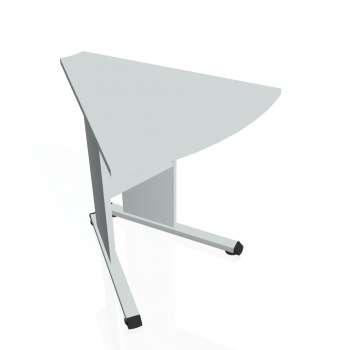 Přídavný stůl Hobis PROXY PP 452, šedá/šedá