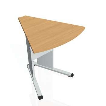 Přídavný stůl Hobis PROXY PP 452, buk/šedá