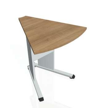 Přídavný stůl Hobis PROXY PP 452, višeň/šedá