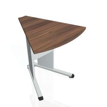 Přídavný stůl Hobis PROXY PP 452, ořech/šedá