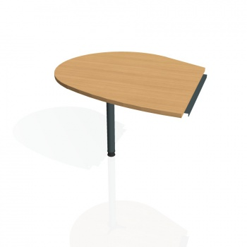 Přídavný stůl Hobis PROXY PP 20 levý, buk/kov