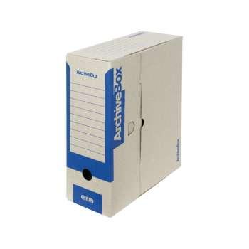 Archivační krabice Emba - A4, hřbet 11,0 cm, modrá, 5 ks