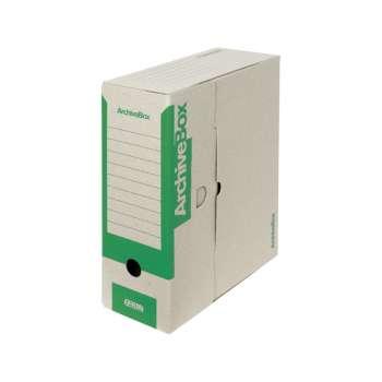 Archivační krabice Emba - A4, hřbet 11,0 cm, zelená, 5 ks
