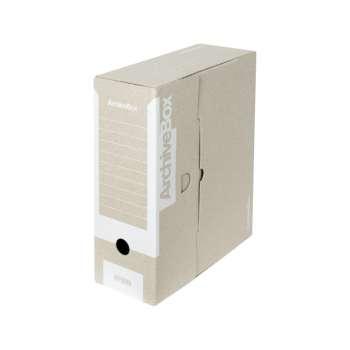 Archivační krabice Emba - A4, hřbet 11,0 cm, bílá, 5 ks