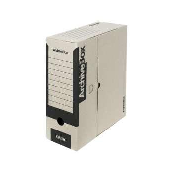 Archivační krabice Emba - A4, hřbet 11,0 cm, černá, 5 ks