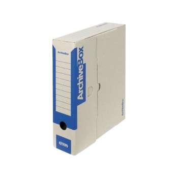 Box archivační Emba modrá  7,5 × 33 × 26 cm, 5 ks