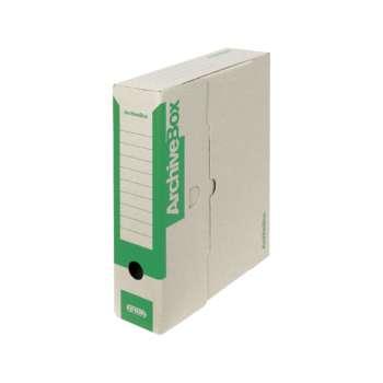 Box archivační Emba zelený 7,5 × 33 × 26 cm, 5 ks