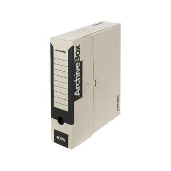 Box archivační Emba černý 7,5 x 33 x 26 cm, 5 ks