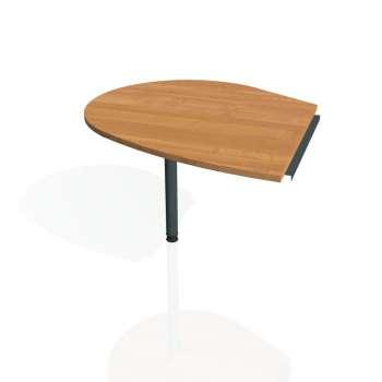 Přídavný stůl Hobis PROXY PP 20 levý, olše/kov