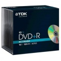 DVD+R TDK, slim box 10 ks