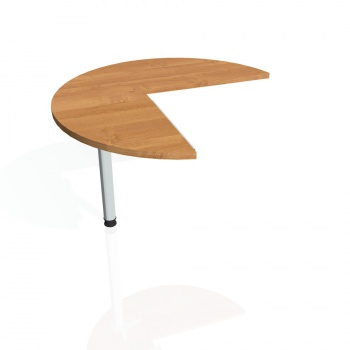 Přídavný stůl Hobis PROXY PP 21 levý, olše/kov