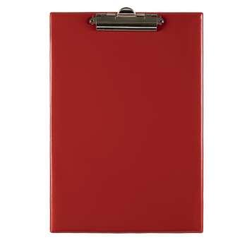 Jednodeska Office Depot - A4, s klipem, červená