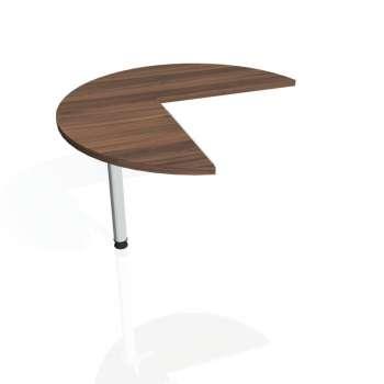 Přídavný stůl Hobis PROXY PP 21 levý, ořech/kov