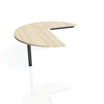 Přídavný stůl Hobis PROXY PP 22 levý, akát/kov