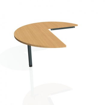 Přídavný stůl Hobis PROXY PP 22 levý, buk/kov