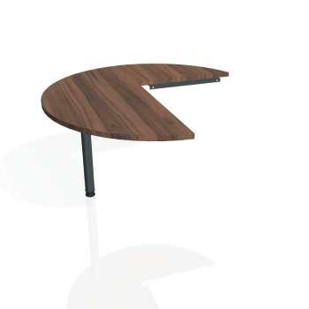 Přídavný stůl Hobis PROXY PP 22 levý, ořech/kov