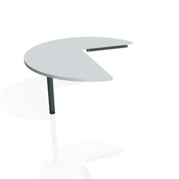 Přídavný stůl Hobis PROXY PP 22 levý, šedá/kov