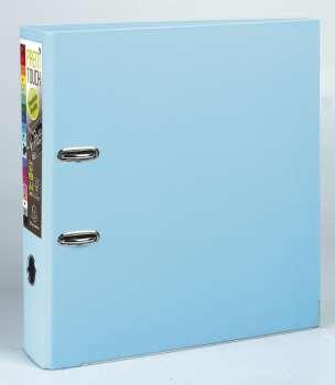 Pákový pořadač Exacompta - MAXI A4+, plastový, hřbet 8,0 cm, světle modrý