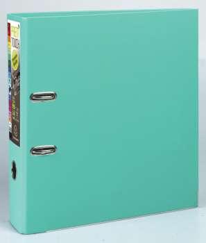 Pákový pořadač Exacompta - MAXI A4+, plastový, hřbet 8,0 cm, světle zelená