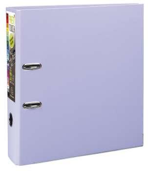Pákový pořadač Exacompta - MAXI A4+, plastový, hřbet 8,0 cm, lila