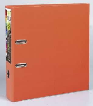 Pákový pořadač Exacompta - MAXI A4+, plastový, hřbet 8,0 cm, oranžový