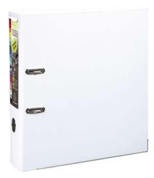 Pákový pořadač Exacompta - MAXI A4+, plastový, hřbet 8,0 cm, bílá