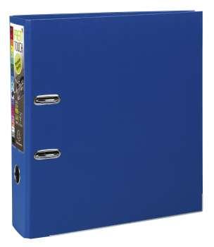 Pákový pořadač Exacompta - MAXI A4+, plastový, hřbet 8,0 cm, tmavě modrý