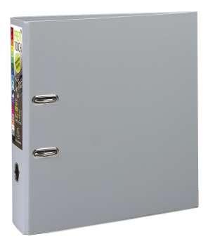 Pákový pořadač Exacompta - MAXI A4+, plastový, hřbet 8,0 cm, tmavě šedý