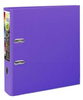 Pákový pořadač Exacompta - MAXI A4+, plastový, hřbet 8,0 cm, purpurový