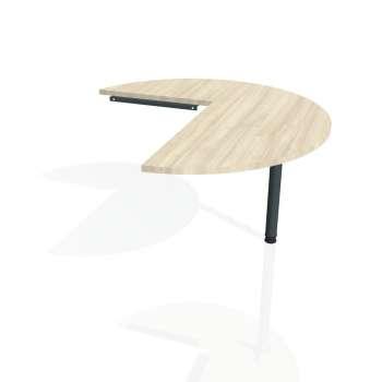 Přídavný stůl Hobis PROXY PP 22 pravý, akát/kov