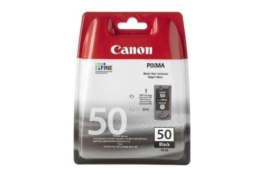 Cartridge Canon PG-50 - černá
