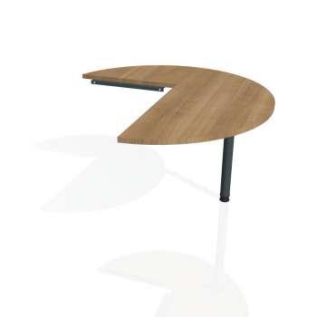 Přídavný stůl Hobis PROXY PP 22 pravý, višeň/kov