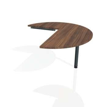 Přídavný stůl Hobis PROXY PP 22 pravý, ořech/kov