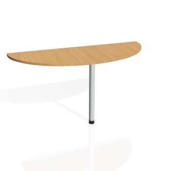 Přídavný stůl Hobis PROXY PP 160, buk/kov