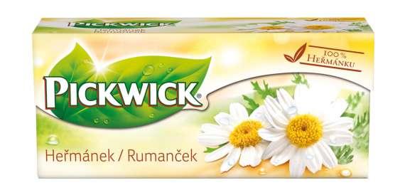 Bylinný čaj Pickwick - heřmánek, 20 x 1,5 g