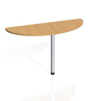 Přídavný stůl Hobis PROXY PP 120, buk/kov