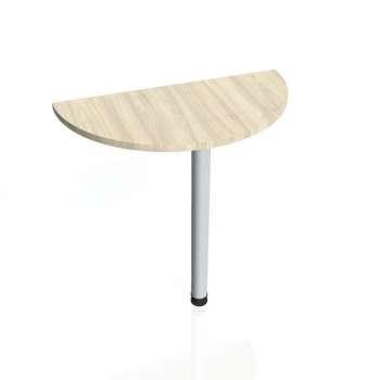 Přídavný stůl Hobis PROXY PP 80, akát/kov