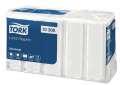 Papírové ubrousky - Tork, bílé, 100 ks